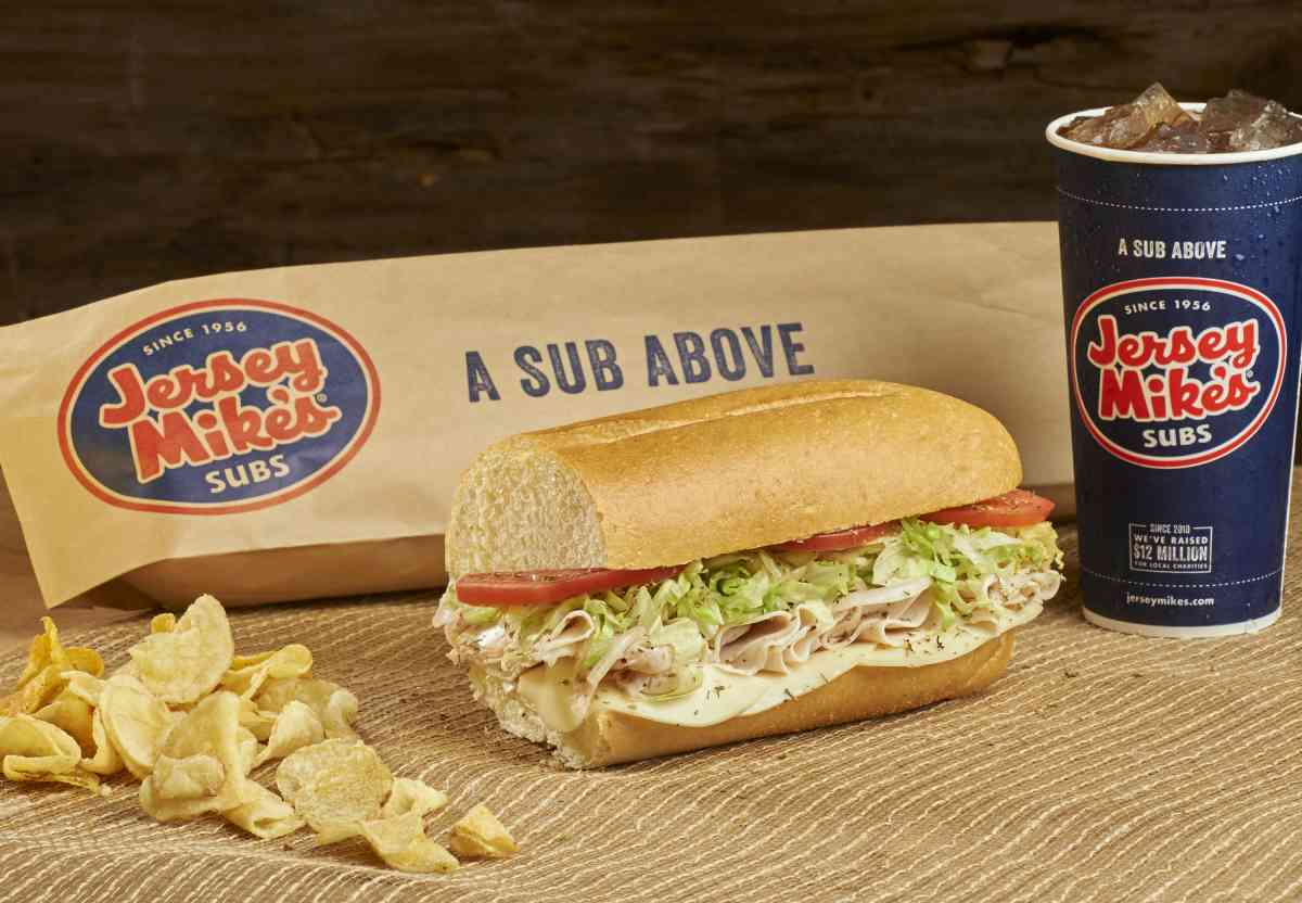 Jersey Mike's #7 is of the highest quality, 99% fat free, raised without antibiotics turkey breast served with provolone. Lean and full of flavor.
