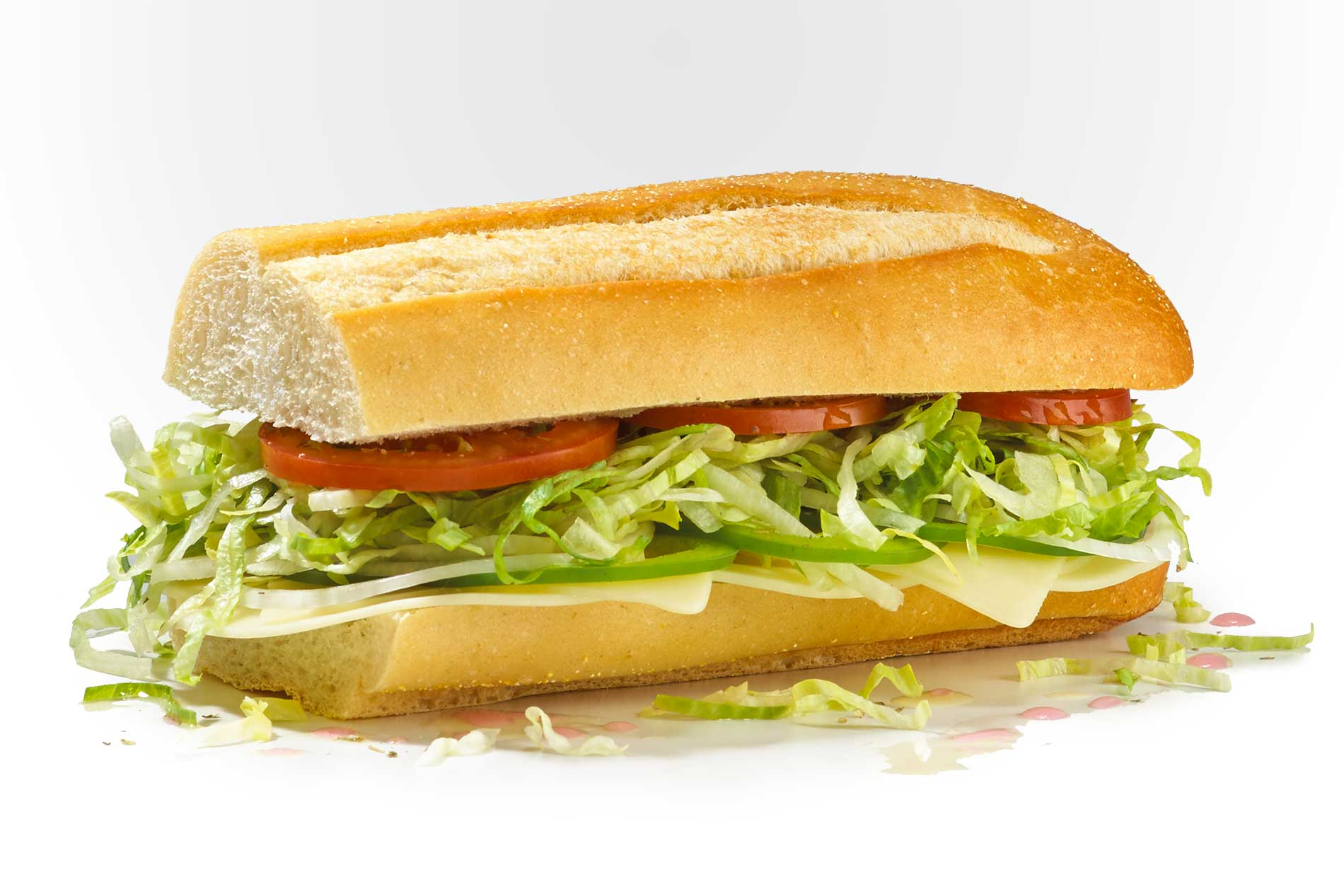 #14 The Veggie - Fresh Sliced Cold Subs