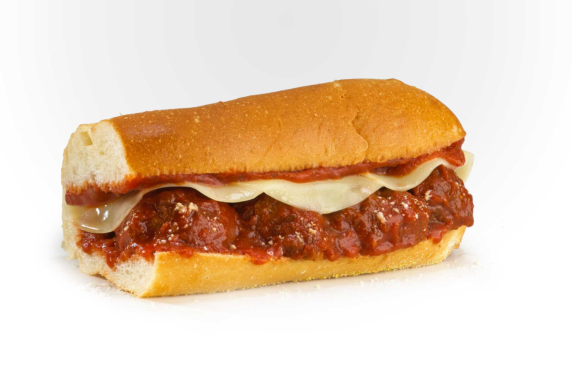 #15 Meatball and Cheese - Fresh Grilled Hot Subs