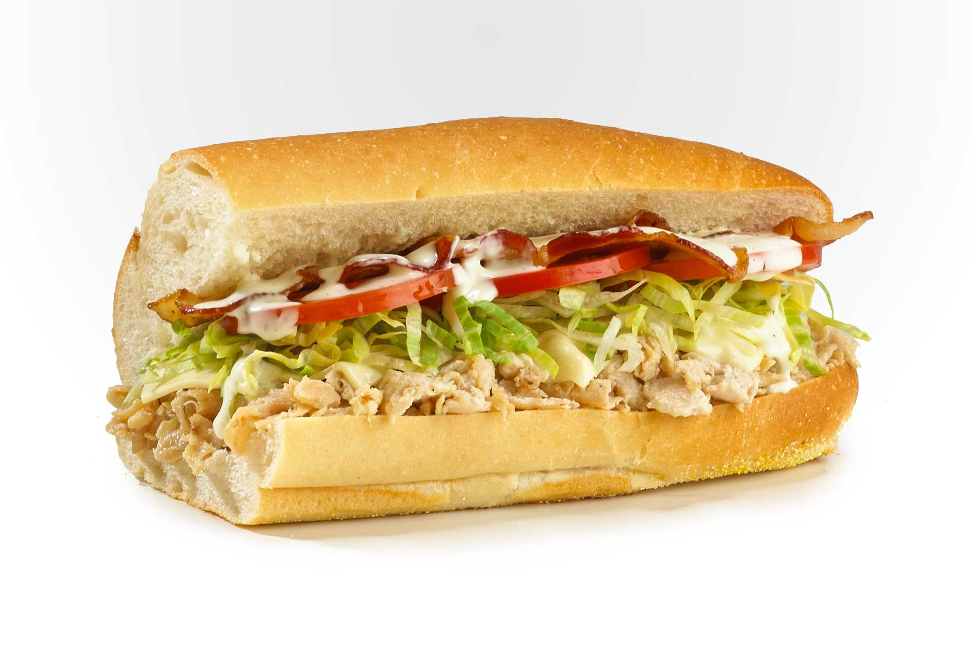 #26 Bacon Ranch Chicken Cheese Steak - Fresh Grilled Hot Subs