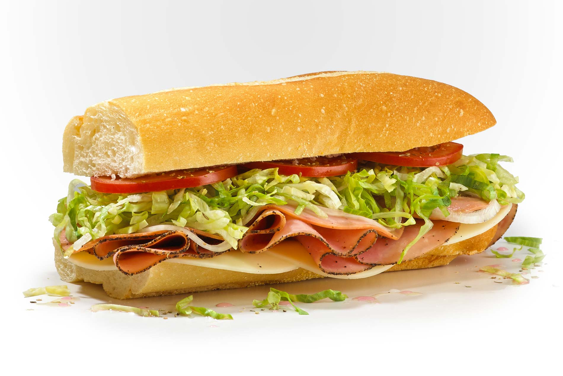#4 The Number Four - Fresh Sliced Cold Subs