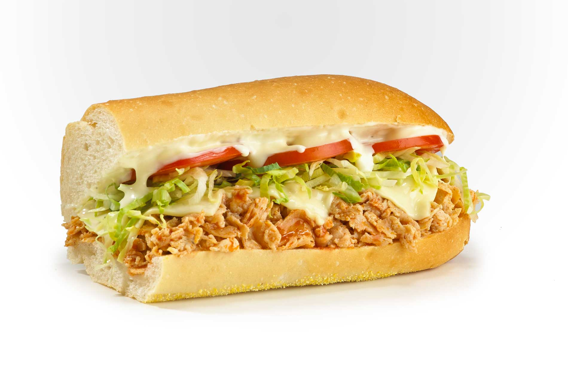 #44 Buffalo Chicken Cheese Steak - Fresh Grilled Hot Subs