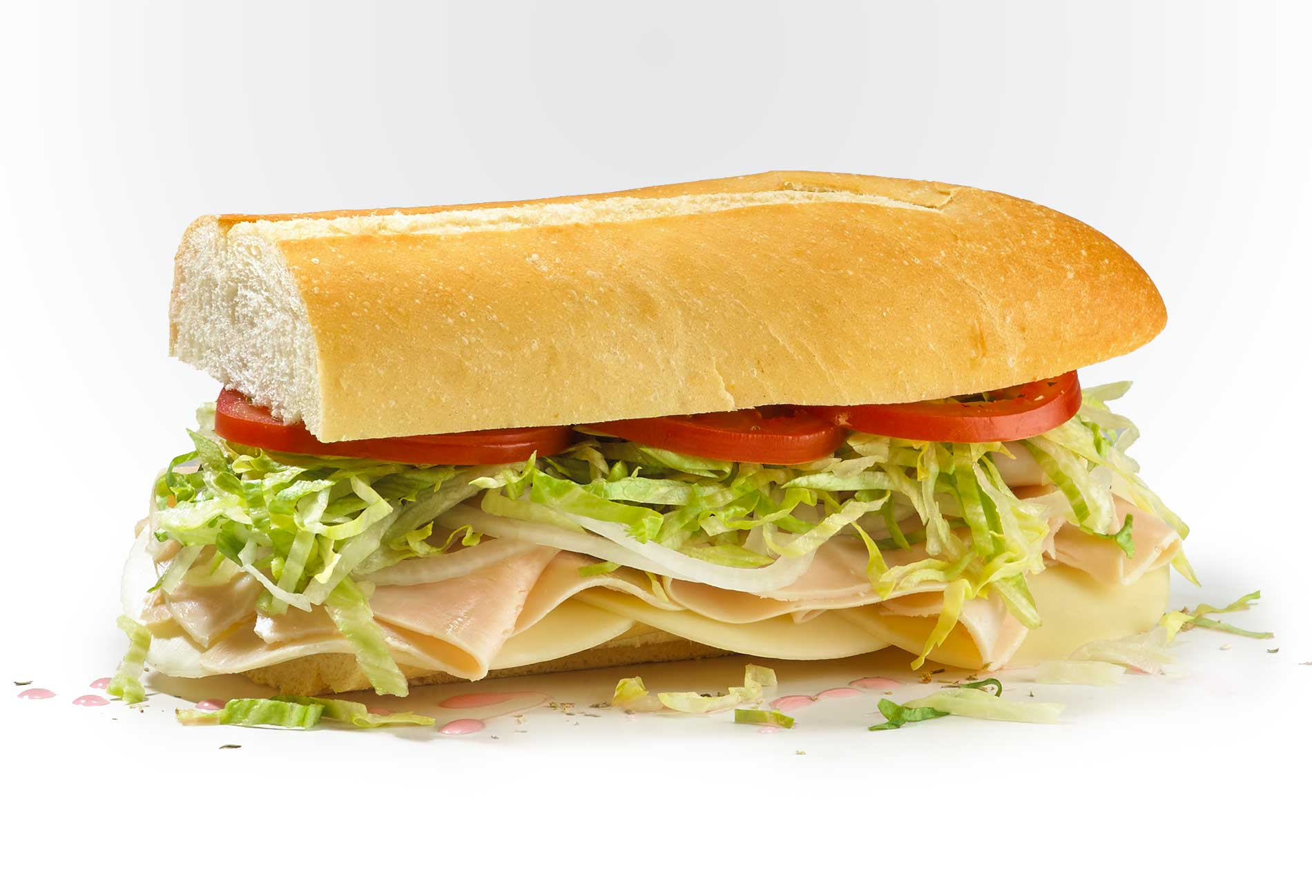 #7 Turkey Breast and Provolone - Fresh Sliced Cold Subs