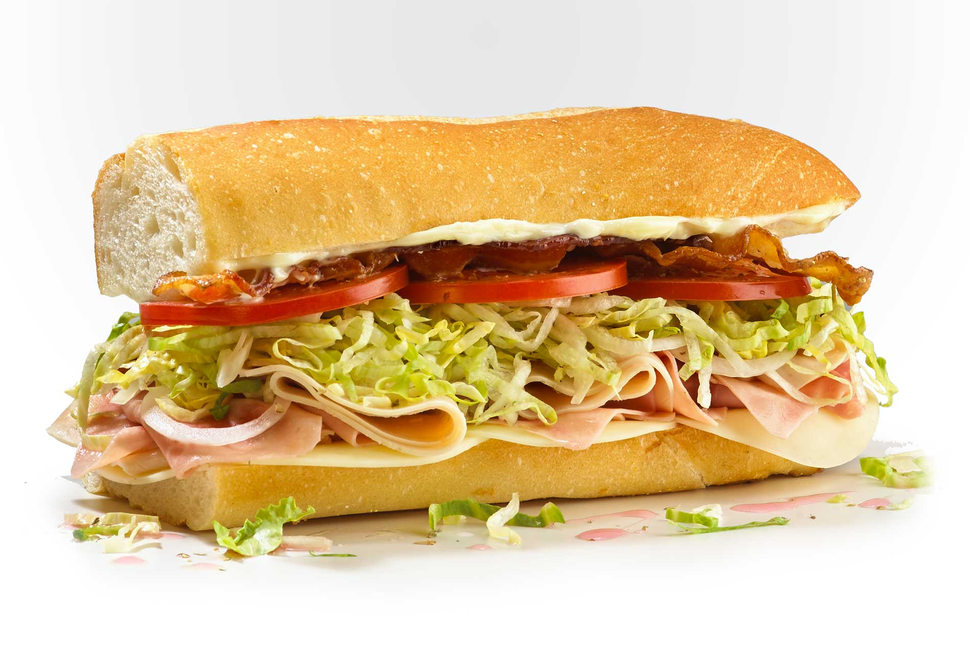 #8 Club Sub - Fresh Sliced Cold Subs