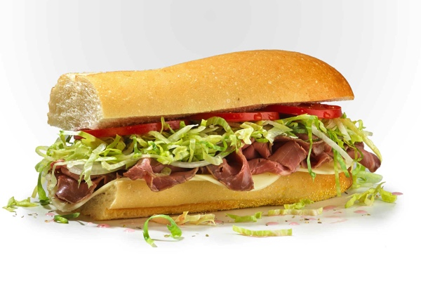 #6 Famous Roast Beef and Provolone
